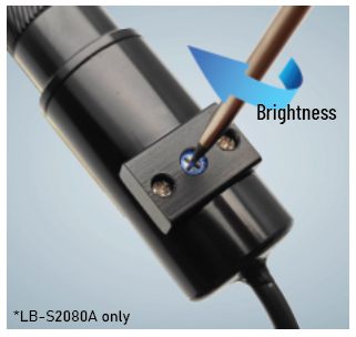 LB LASER LINE BRIGHTNESS ADJUSTMENT