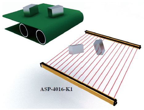 application for area sensor riko 3
